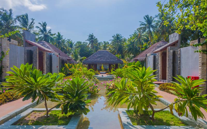 Wellness village at Furaveri, Maldives