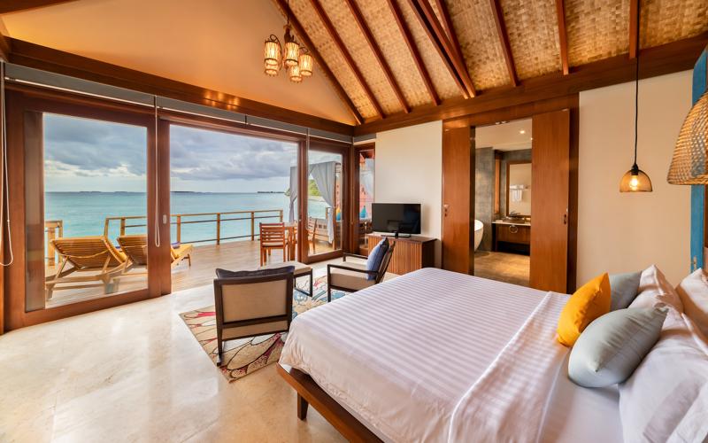 Furaveri Island Resort interior water villa