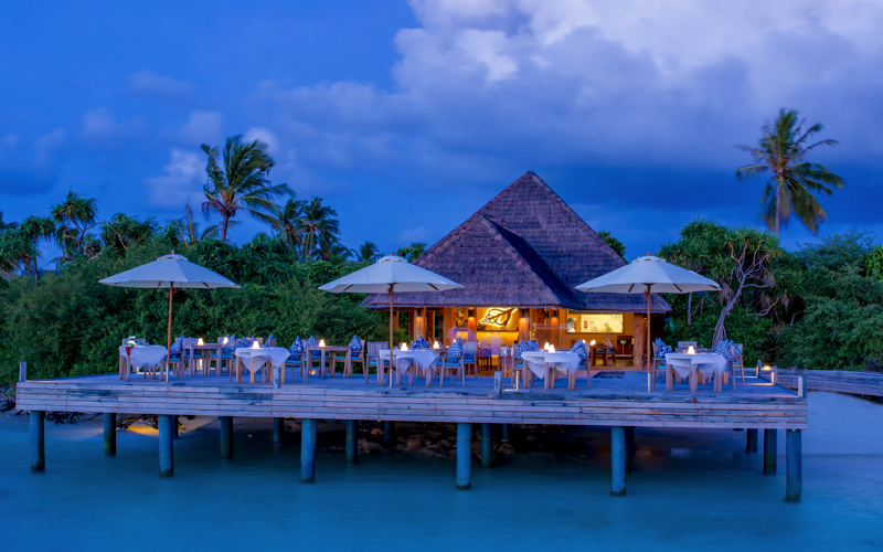 Kudafushi Island Resort restaurant