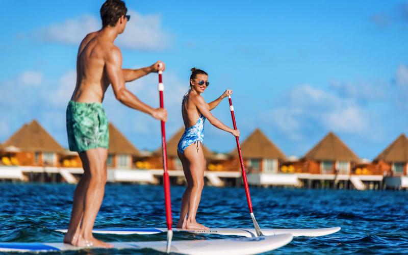 Kooddoo Island Resort - sup