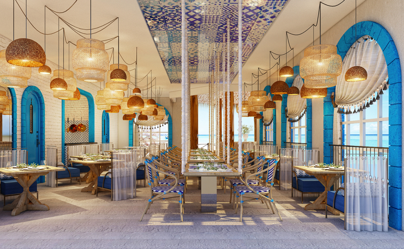 The Lighthouse Restaurant at Intercontinental Maamunagau, Maldives