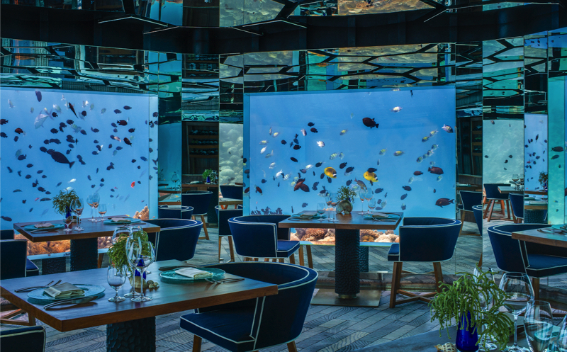 Underwater Restaurants - SEA