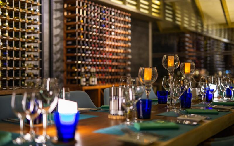 Iru Veli island resort wine Cellar