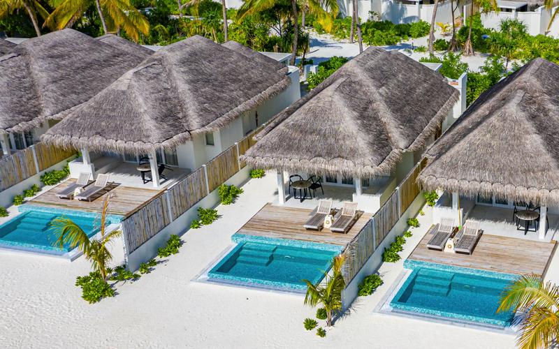 Beach Villas at IruVeli Maldives