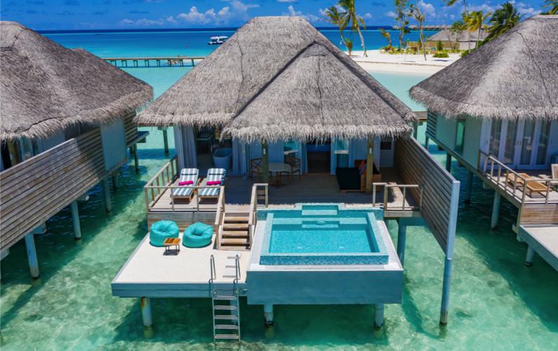 Water Villas at IruVeli Maldives