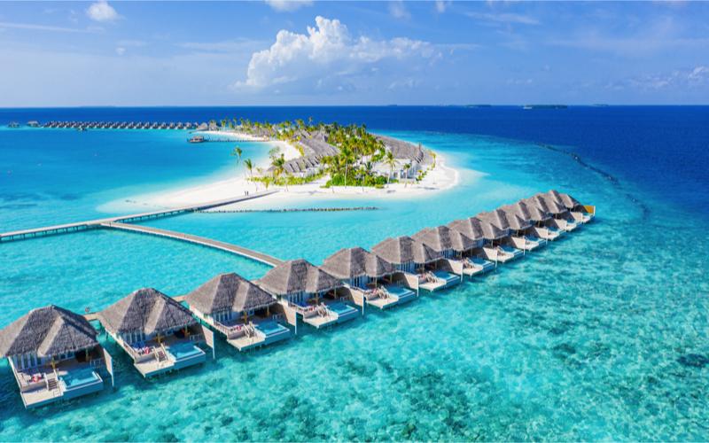 Sun Siyam Iru Veli Resort Aerial view