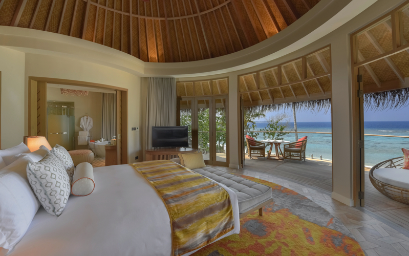 The Nautilus Maldives beach villa