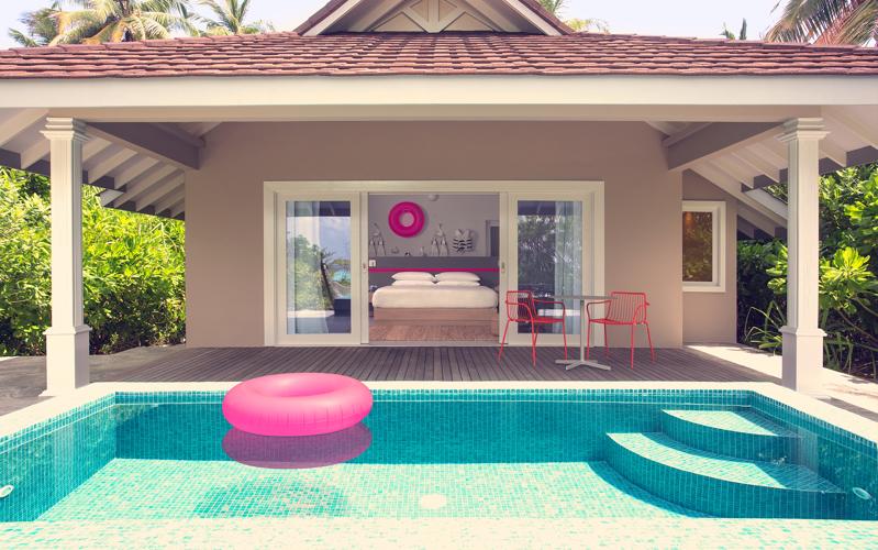 The Standard Huruvalhi Maldives, Lagoon Beach Villa